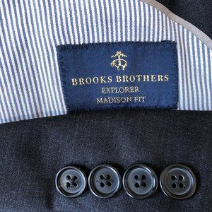 Brooks Brothers Madison Fit Explorer Wool Blazer